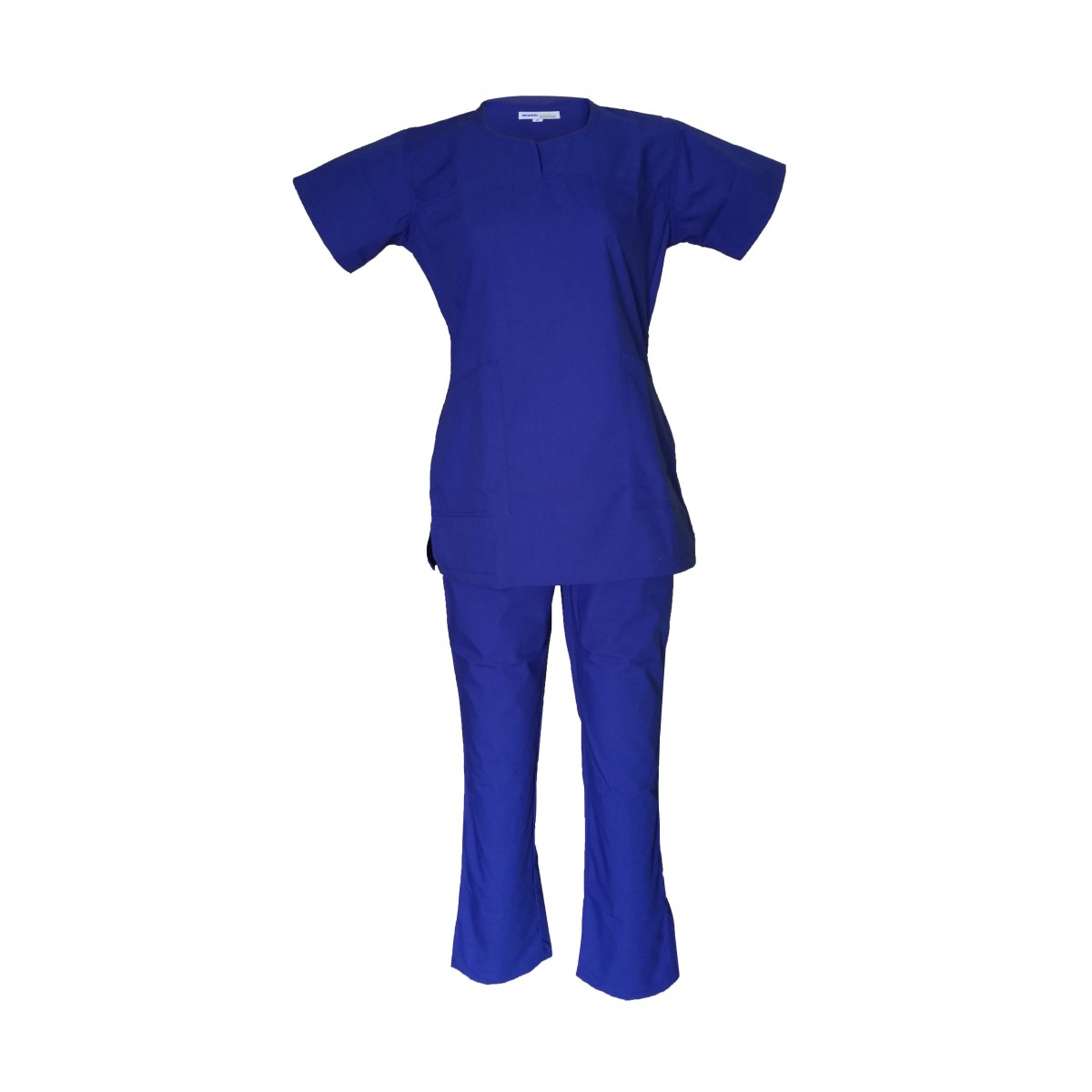 Female Y-Crossover Scrub Bright Blue
